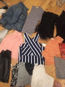 Huge haul of brand name clothes!!