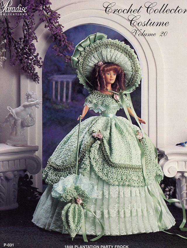 1905 Garden Party Frock crochet patterns Paradise Vol 89