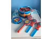 Paw patrol musical instruments set