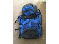 RUCKSACK FOR CAMPING/HIKING. APPROX: 50-60L CAPACITY