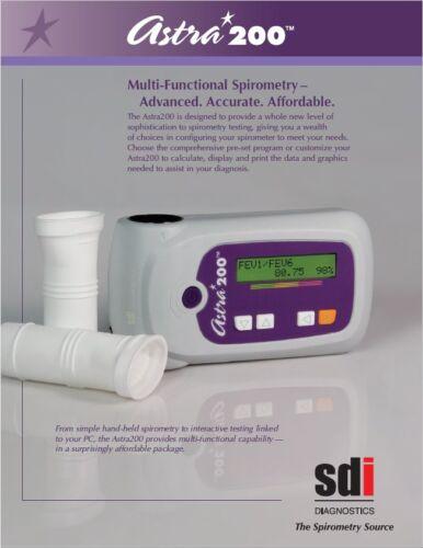 Astra 200 Spirometer