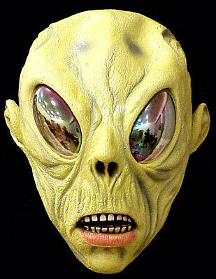 Halloween-3 Maske ((A-025) Halloween 3/4 Alien mask HIGH Quality Latex Material)