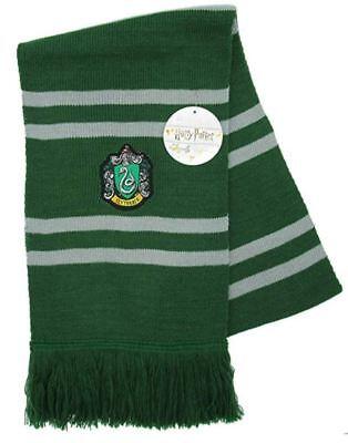 (Official Scarf Harry Potter SLYTHERIN Magic Hogwarts original Warner Bros)