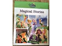 Disney Fairies (Tinker Bell) MAGICAL STORIES 5 Books plus 20 Stickers BRAND NEW