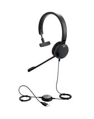 Jabra Evolve 30 II Mono Corded UC Noise Cancelling Headset