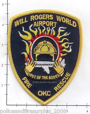 Oklahoma - Will Rogers World Airport OK Fire Dept Patch - Out of the Ashes