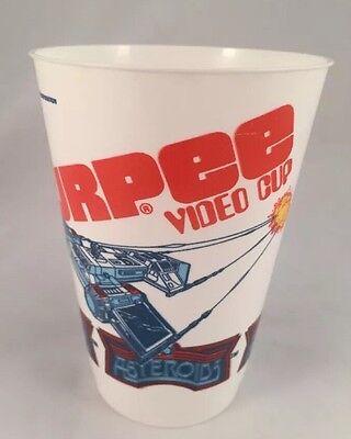 Vintage 1981 ASTEROIDS 7-11 Atari Slurpee Video Cup UNUSED Free Shipping