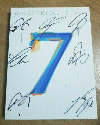 """BTS Album """"MAP OF THE SOUL : 7"""" Official Autograph (Signed) Album - Not For Sale"""