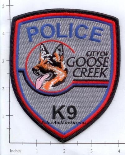 South Carolina - Goose Creek K-9 SC Police Dept Patch v1