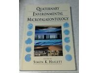 Quaternary Environmental MicroPalaeontology text book