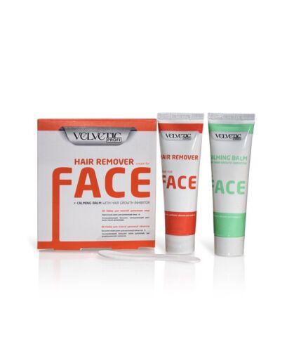 Enthaarungscreme Haarentfernungscreme Set für Gesicht empfindliche Haut