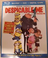 Despicable Me BD + DVD Combo Pack *NM* *NEW PRICE* *$15*