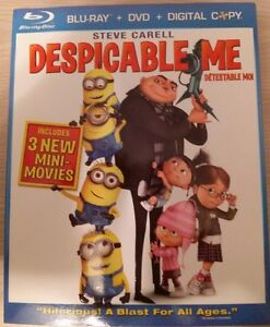 Despicable Me BD + DVD Combo Pack *NEW PRICE* *$10*