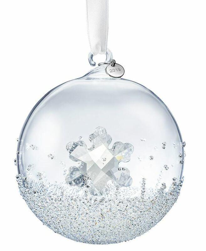 New in Box $99 SWAROVSKI CHRISTMAS Ball Ornament Annual Edition 2019 #5453636