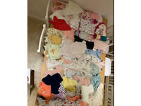 Girls baby clothes large bundle various item newborn / 0-3 / 3-6 months