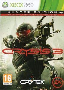 Crysis 3 Hunter Edition Microsoft Xbox 360 Deutsche Neuware OvP Uncut
