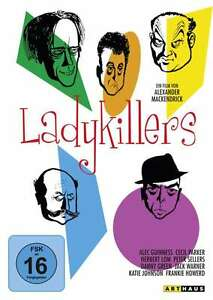 LADYKILLERS-Alec-Guinness-PETER-SELLERS-Cecil-Parker-DVD-nuevo