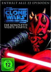 Star Wars: The Clone Wars Season/Staffel 4 * NEU OVP * DVD Box