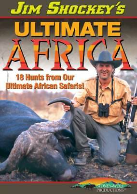 Jim Shockey 18 Hunts From Ultimate Africa Safaris Buffalo Lion Hippo DVD NEW