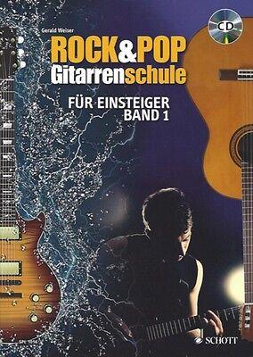 Rock & Pop Gitarrenschule, für Einsteiger Band 1, SPL 1016