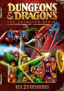 Dungeons & Dragons - The Complete Animated Series (DVD, 2009) - NEW!!