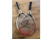 Pair Of Junior Tennis rackets 23inch