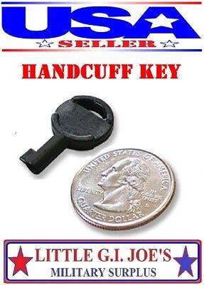 Universal Standard Fit Non-metallic Covert Spy Handcuff Key Fits Most All Cuffs