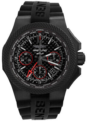 New Breitling Bentley GMT B04 S Carbon Body Men's Watch NB0434E5/BE94-232S
