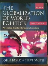 The Globalization of World Politics - third ed. by Baylis & Smith Kingston South Canberra Preview
