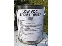 EPDM PRIMER - RUBBER ROOF INSTALLATION X6 tins. £5 each (paid @ £35 a tin)