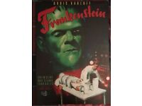 Frankenstein movie canvas