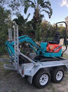 Micro & Mini Excavator Dry Hire $175 p/d ph:******2175