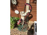 Antique vintage cast iron water pump