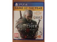 Ps4 games,the witcher 3 and the last of us