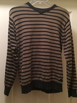 QuikSilver boys girls kids long sleeve olive black sweater shirt xl extra large ()