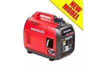 Honda eu22i Generator brand new in sealed box