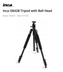 Inca I3642B Tripod with Ball Head Croydon Burwood Area Preview