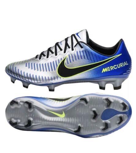 0acf06187 Nike Mercurial Vapor XI NJR FG Soccer Cleats Mens Sz 7.5 Racer Blue  921547-407