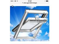 Any size Velux roof window supplied and fitted £400