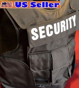 SECURITY / POLICE Body Armor Bullet Proof / Stab Proof Vest 3A SIZE LARGE NEW!!!