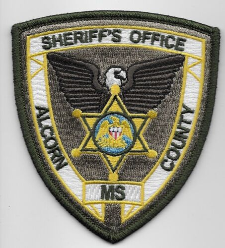 Alcorn County Sheriff State Mississippi MS NEW