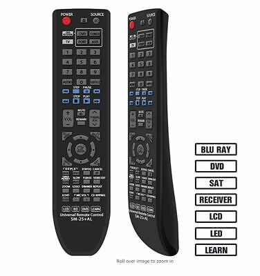 Universal Remote Control for All Samsung LCD LED HD Smart TV SM-25+AL