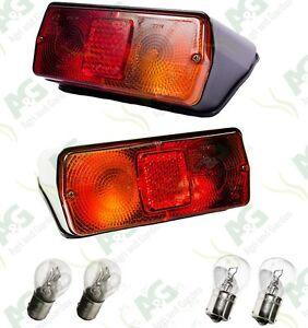 Ford New Holland 5610, 6610, 7610, 7810 Super Q Tractor Rear Light Set. LH/RH