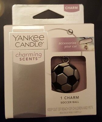 YANKEE CANDLE CHARMING SCENTS - SOCCER BALL CHARM - NEW