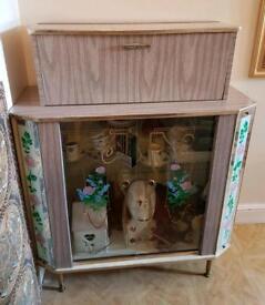 vitage drunks cabinet