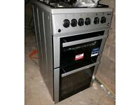 Beko BDVG592S Gas Cooker with Gas Grill - Silver