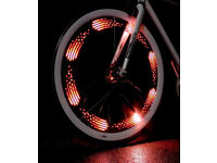 TX FLARE PROGRAMMABLE SAFETY SYSTEM CREATE MESSAGES IN YOUR WHEELS BIKE LIGHT.**