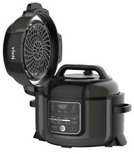 Ninja OP302 Foodi Cooker, Steamer & Air with TenderCrisp Technology Pressure Coo