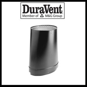 DURAVENT DVL DOUBLE WALL- 6  Wood Stove Pipe- Oval-To-Round Adapter #6DVL-ORAD  sc 1 st  eBay & 6 Double Wall Stove Pipe | eBay
