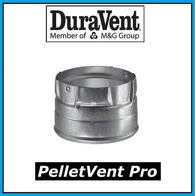 """DURAVENT PELLETVENT PRO Pipe 3"""" Clean Out Tee Cap #3PVP-CO NEW! FREE USA SHIP!"""